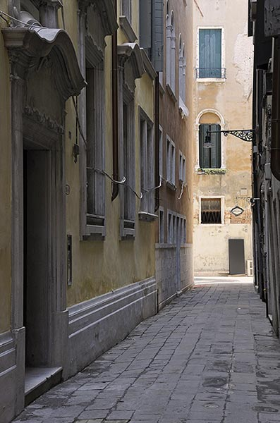 Narrow Alleyway, Venice