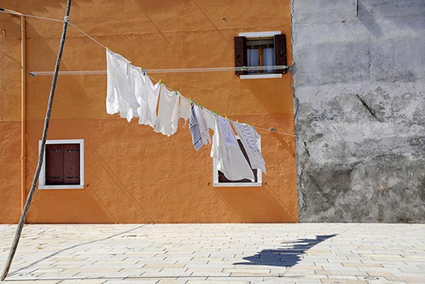 Clothesline on Burano