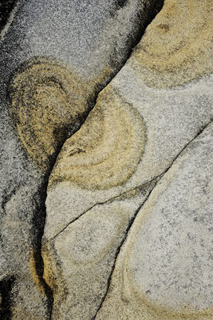 abstract rock art #4, Salt Point,CA