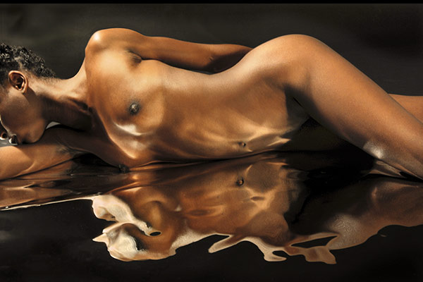 Nude study of Reflections on Sarah