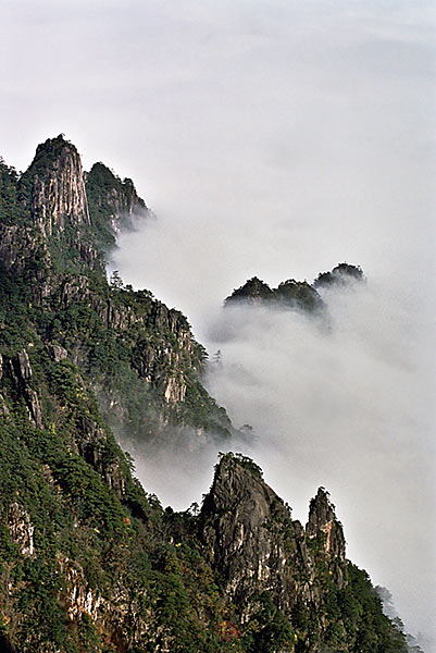 Yellow Mountain and Mist