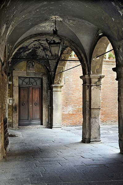 Courtyard in Lucca